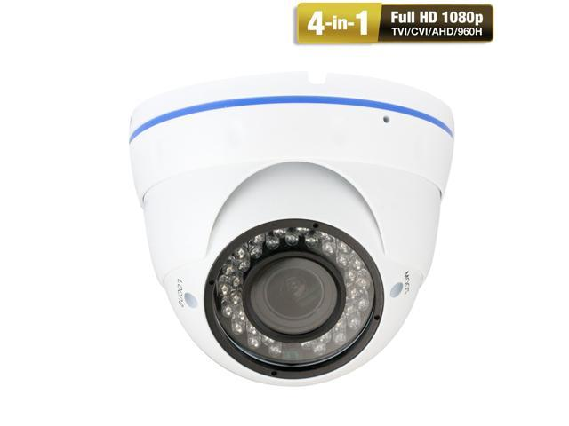 GW289HD 2.1MP 1080p 4-in-1 HD TVI / AHD / CVI / 960H 1200TVL CCTV Outdoor Weatherproof Security Camera, 2.8-12 mm Varifocal Zoom Lens, 36 LED, 100-Feet IR Distance
