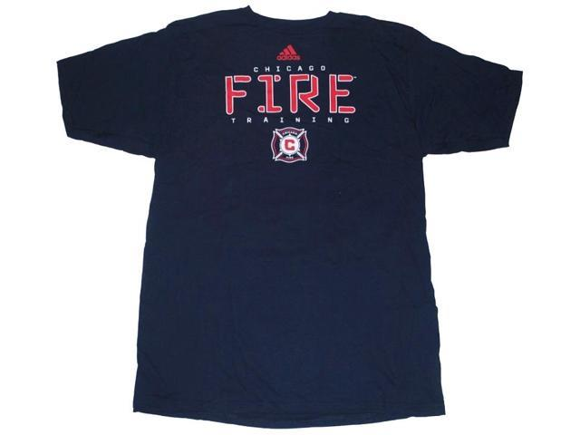 Chicago Fire Adidas Navy Red-White-Logo