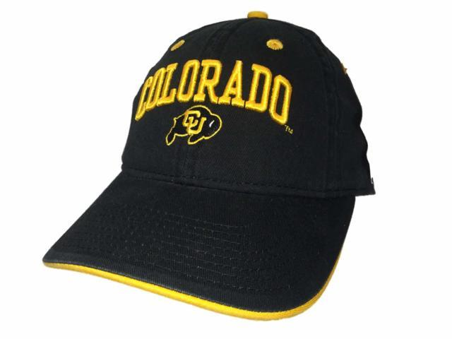 Colorado Buffaloes Champion YOUTH Adjustable Strap Black Slouch Hat Cap