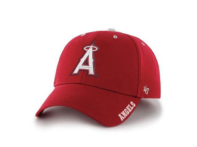 Los Angeles Angels 47 Brand Red Frost Adjustable Structured Hat Cap