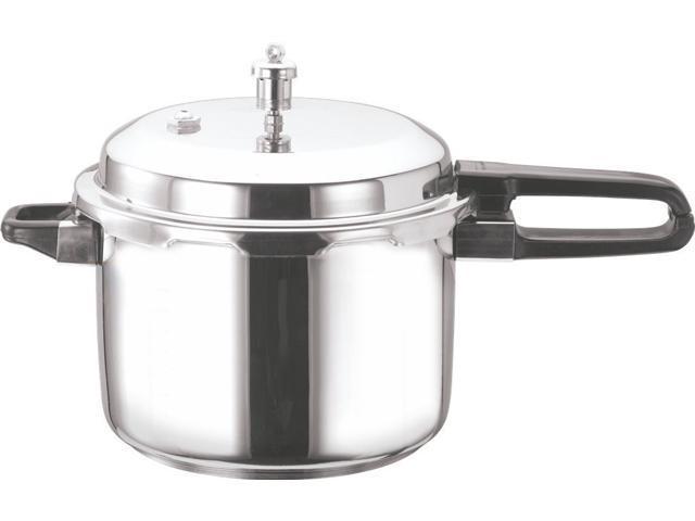 Vinod Stainless Steel Sandwich Bottom Pressure Cooker, 7-Liter