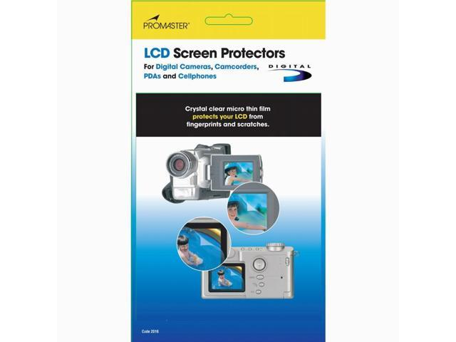Promaster LCD Screen Protectors Cut to Fit, 4 Pack