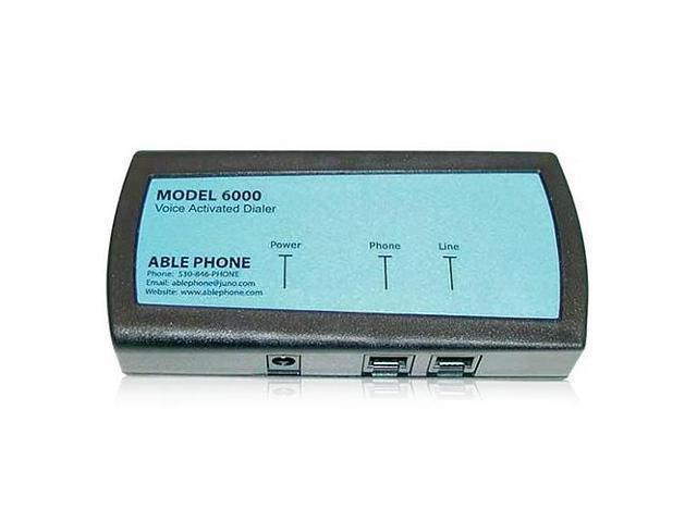 AblePhone AP-6000 Voice Activated Inline Telephone Dialer
