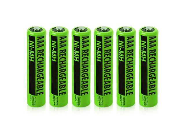 Clarity NiMH AAA Batteries (6-Pack)