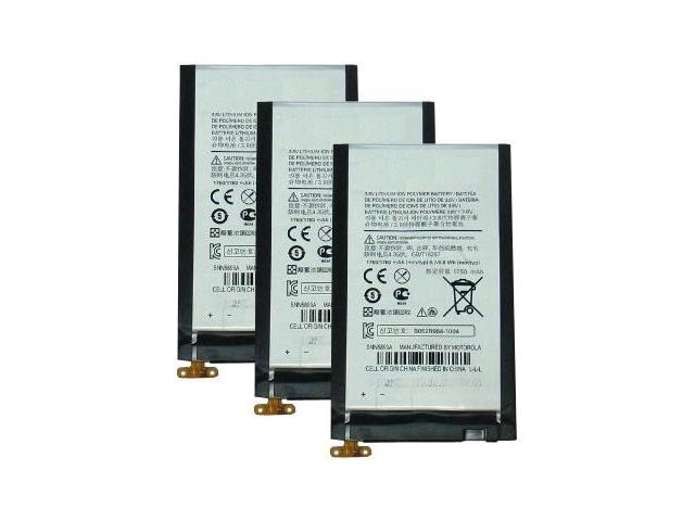 Replacement Battery For Motorola EB20 (3-Pack)