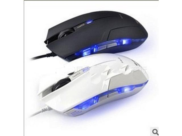 Luminous Optical 1600 DPI USB Wired Gaming Game Mouse MICE For Games Laptop PC