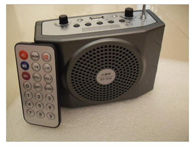 Loudspeakers, KU - 898 speakers, antenna, remote control, TF, USB, FM speakers