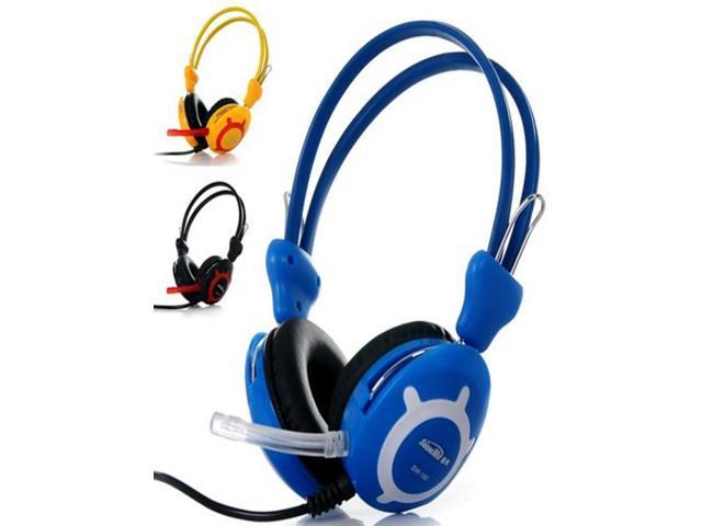 Stereo Headphones wearing headsets super bass computer PC earphones with microphone MIC