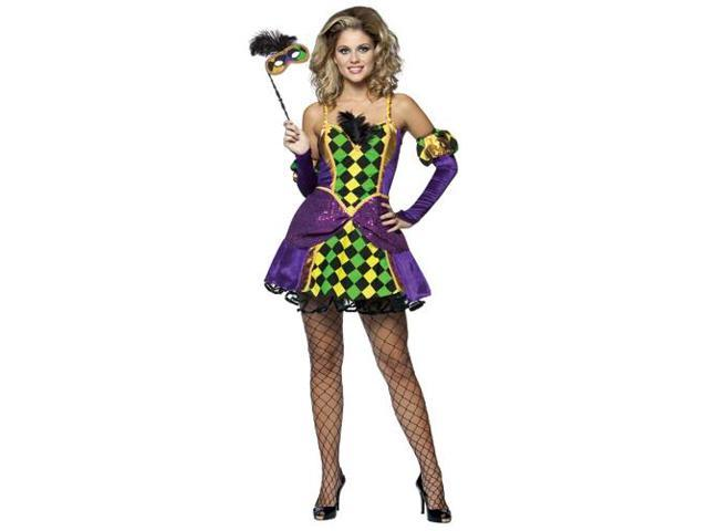 Women's Sexy Queen of Mardi Gras Costume