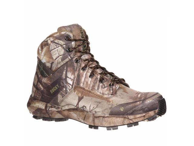 rocky 16 quot silenthunter green camo rubber snake boots