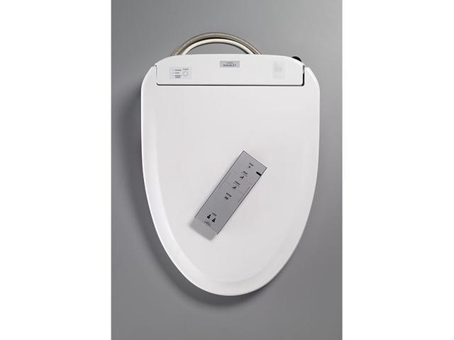 Toto Washlet S350E Cotton  Elongated front Washlet toilet seat with cover Mounting and connection hardware included