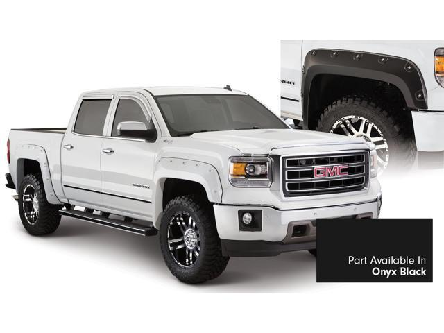 Bushwacker 40958-34 Boss Pocket Style Fender Flares Fits 14-15 Sierra 1500