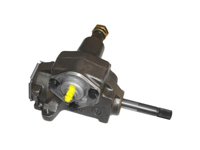 Omix-ada This manual steering gear box assembly from Omix-ADA fits 72-86 Jeep CJ models and 73-86 Jeep SJ trucks.  18001.01