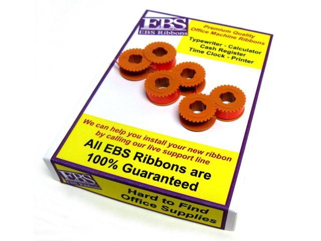 Premium EBS Ribbons® Typewriter Lift-off Correction Tape #LO-300 - (3 pack) - For Olympia - Compatible with Nukote 166TL
