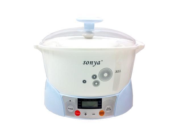Sonya Slow Cooker with 3 Ceremic Jugs
