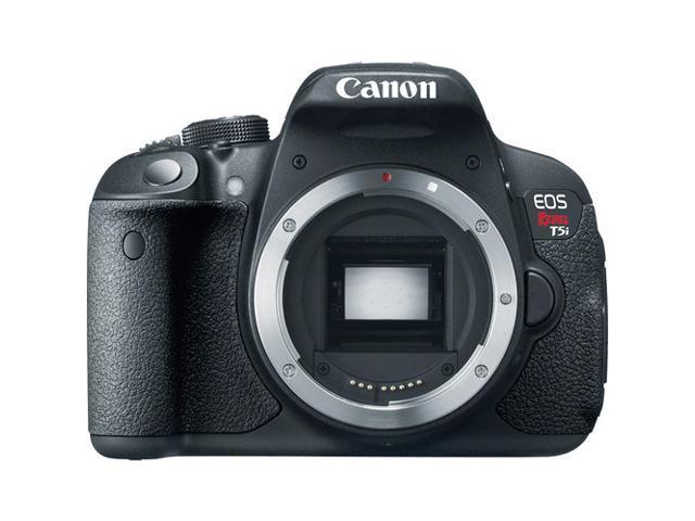 Canon EOS Rebel T5i (8595B001) Black Digital SLR Camera - Body Only