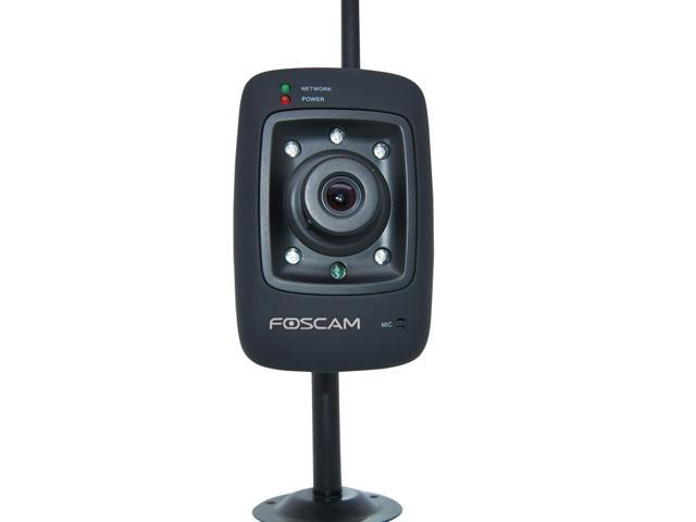 Foscam FI8909W(Black) Wireless b/g/n Day/Night Vision IP Camera