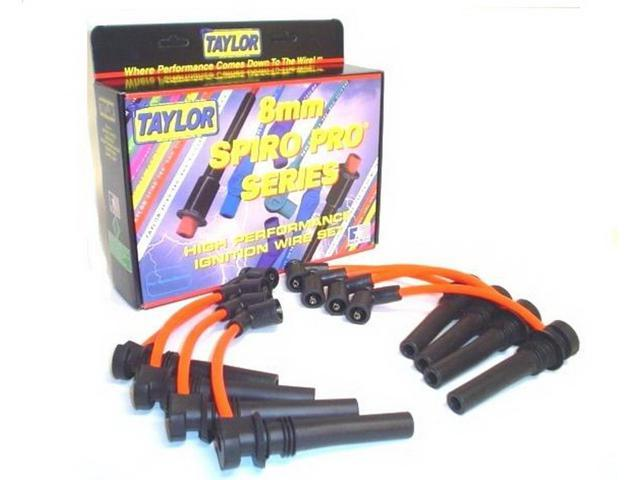 Taylor Cable 72341 8mm Spiro Pro Ignition Wire Set