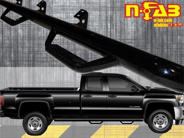 N-Fab C15102QC Nerf Step Bar; Wheel To Wheel