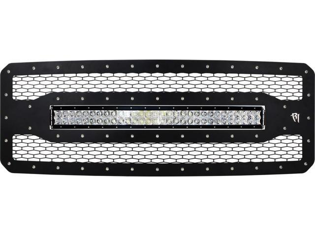 Rigid Industries 41580 LED Grille Fits 11-15 F-250 Super Duty F-350 Super Duty