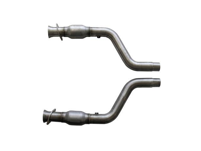 BBK Performance 1796 High-Flow Mid-Pipe Fits 05-13 300 Challenger Charger Magnum