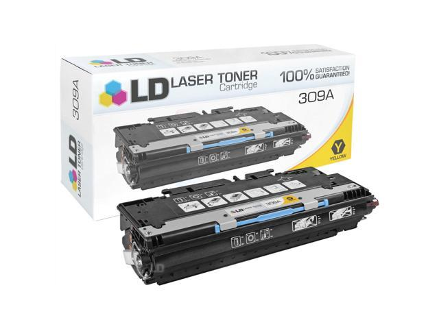 LD �� Remanufactured Replacement Laser Toner Cartridge for Hewlett Packard Q2672A (HP 309A) Yellow