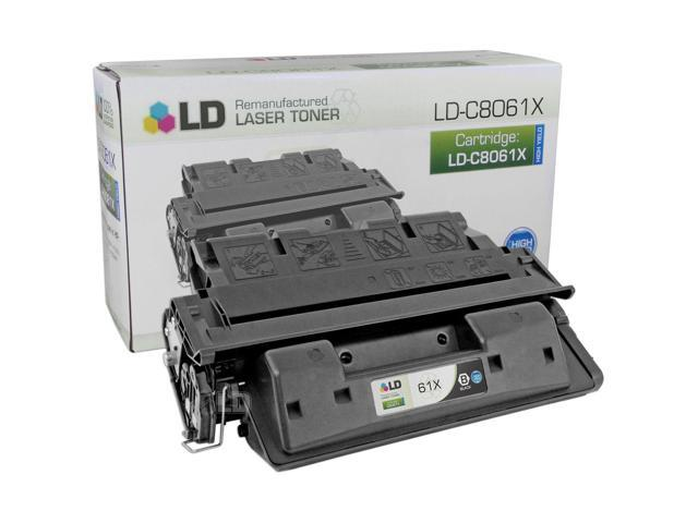LD © Remanufactured Replacement for Hewlett Packard C8061X (HP 61X) High Yield Black Laser Toner Cartridge for use in HP LaserJet 4100, 4100dtn, 4100mfp, 4100n, 4100tn, and 4101mfp Printers