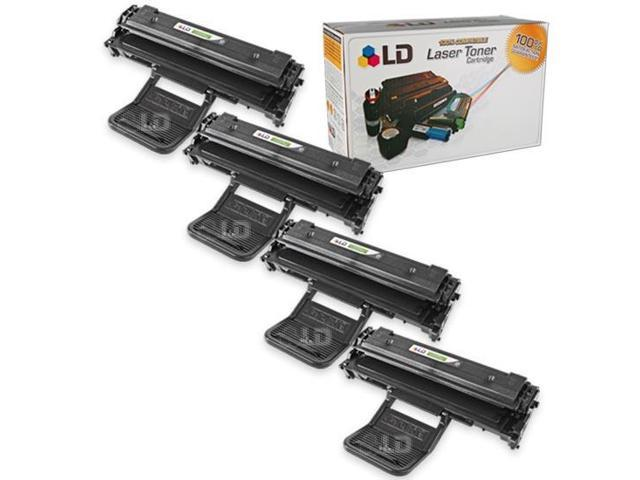LD © Compatible Toners for  Samsung ML-2010D3 Set of 4 Black Laser Toner Cartridges for use in the ML-2010, ML-2510, ML-2570 & ML-2571N Printers