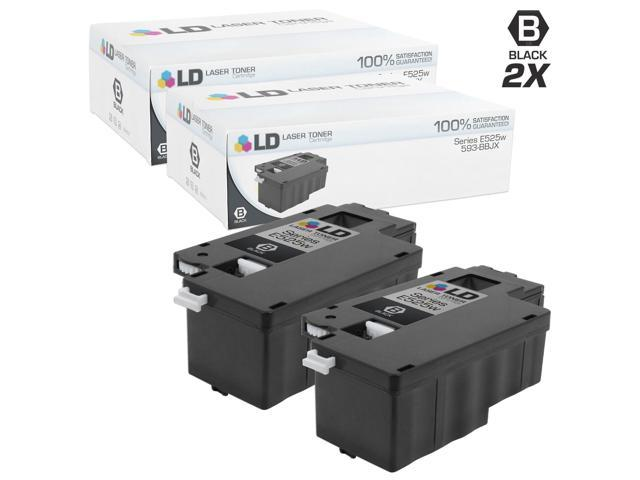 ld compatible dell 593 bbjx dpv4t set of 2 black laser toner cartridges for dell multi. Black Bedroom Furniture Sets. Home Design Ideas
