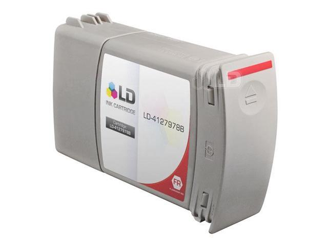 LD © Compatible Replacement for Hasler Fluorescent Red 4127978B Inkjet Cartridge for the WJ220