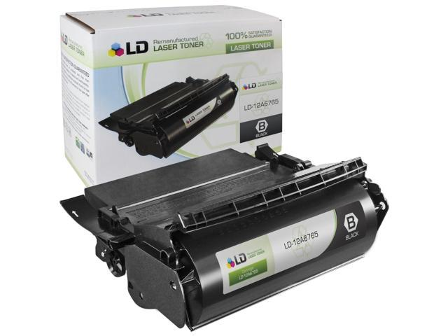 LD © Compatible Black Laser Toner Cartridge for Lexmark 12A6765 (T620, T622, X620 Series Printers)