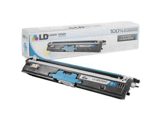 LD © Compatible Replacement for Konica Minolta A0V30HF High Yield Cyan Laser Toner Cartridge for use in Konica Minolta MagiColor 1600W, 1650EN, 1680MF, and 1690MF Printers