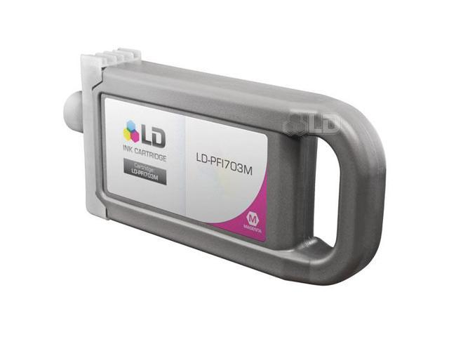 LD Compatible Canon PFI-703M Dye Magenta Ink Cartridge