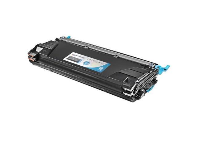 LD © Remanufactured High Yield Cyan Laser Toner Cartridge for Lexmark C736H1CG