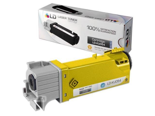 LD © Compatible Toner to replace Dell KU054 (310-9062) High Yield Yellow Toner Cartridge for your Dell 1320c / 1320 Color Laser Printer