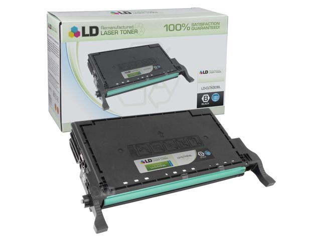 LD © Remanufactured Replacement for Samsung CLT-K508L High Yield Black Laser Toner Cartridge for use in Samsung CLP-620ND, CLP-670N, CLP-670ND, CLX-6220FX, and CLX-6250FX Printers