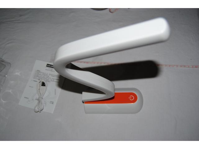 Mini Type Fashion Wide Desk White Light LED Table Lamp Study Reading Lamp
