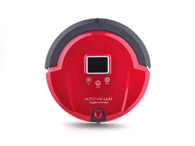 Amtidy Intelligent Mini A320 Robot Vacuum Cleaner - Red