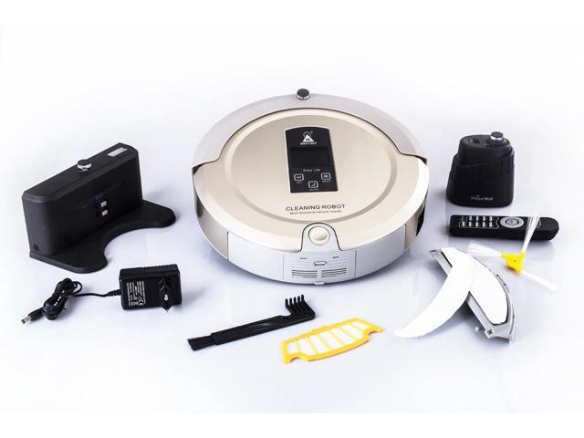 US Warehouse AmTidy A325 New Mini Robotic Vacuum Cleaner UV Floor Cleaning Robot Vacuum Cleaner for Pet Hair