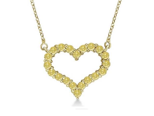 yellow diamond necklace oaspx