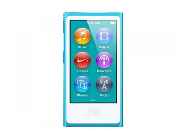 Apple - iPod nano 16GB - 7th Gen (Blue) MD477LL/A