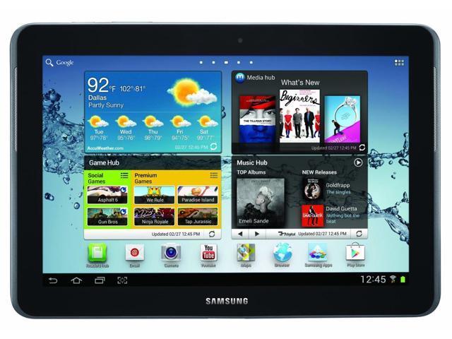 Samsung Galaxy Tab 2 10.1in Wi-Fi Gray