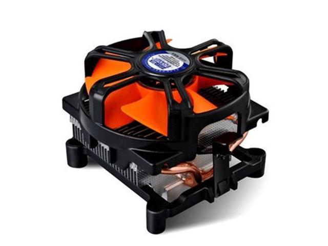 2 Heat Copper Pipes Computer PC CPU Heatsink Cooler Fan for Intel LGA 1156/775 AMD AM2/754/939/940