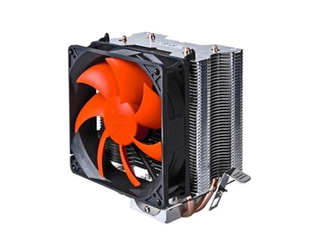 2 Heat Copper Pipes 3 Pin Heatpipe CPU Cooler Heatsink PC Fan for Intel LGA 775/1156 AMD 754/939/AM2/AM2+/AM3