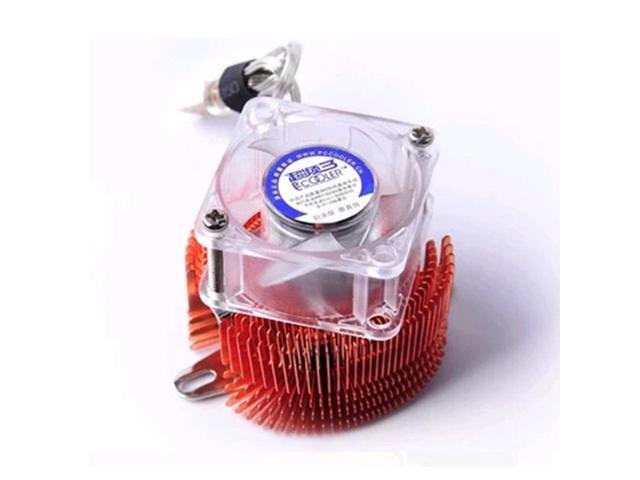 Cooling Fan With Copper Heat Sink Fin Cooler for PC Northbridge Chipset Cooling