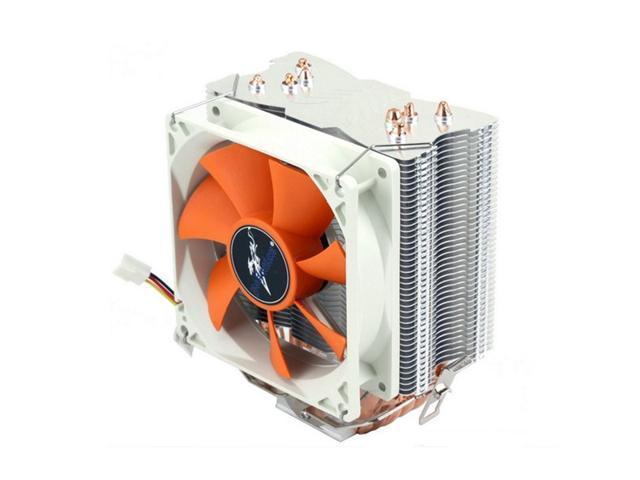 130W 3 Pin4 Heat Copper Pipes 12V CPU Cooler Cooling Heatsinks Fan for AMD Socket AM3/AM2+/AM2 Intel Socket 1156/1155/775