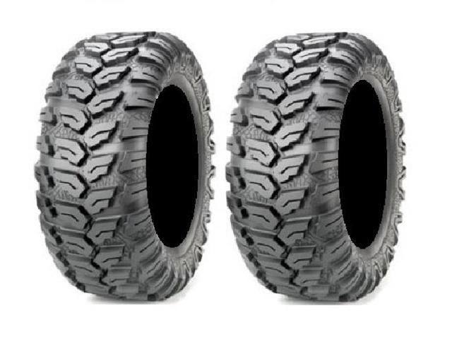 pair of maxxis ceros radial atv tires 25x10 12 2. Black Bedroom Furniture Sets. Home Design Ideas