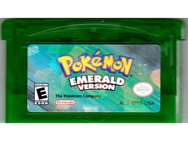 gba Pokemon Emerald Version (Nintendo Game Boy Advance, 2005)