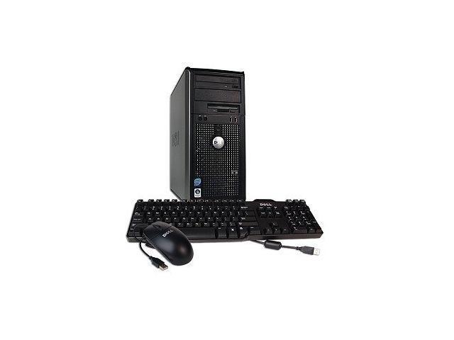 Dell OptiPlex 755 MT - Core 2 Duo 4GB RAM 250GB HDD DVD-CDRW Win 7 Pro