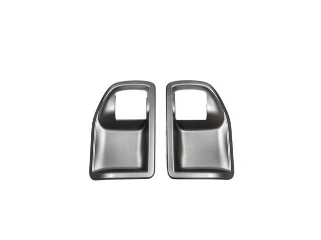 Rugged Ridge 13311.15 Door Handle Recess Guards, Chrome, 07-14 Jeep Wrangler JK